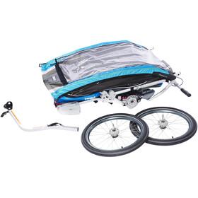 Thule Chariot CX2 + Bike Set, blue